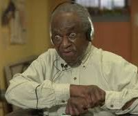 Alzheimer's patient, Henry Dryer reacts to the music of Cab Calloway.