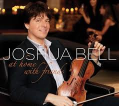 Joshua Bell at home with friends