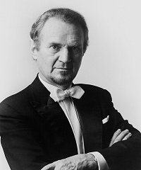 Polish-born conductor Jerzy  Semkow (1928-2014)