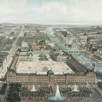 Tuileries Palace in Paris where Mozart's 31st Symphony was performed in 1778.