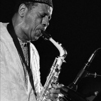American jazz saxophonist Ornette Coleman (1930-2015)