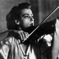 French violinist Ginette Neveu (1919-1949)