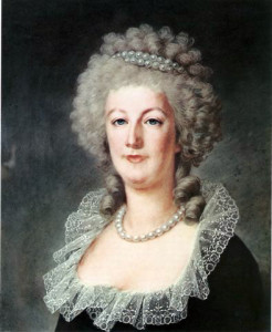Alexander Kucharski's portrait of Marie Antoinette from around 1790