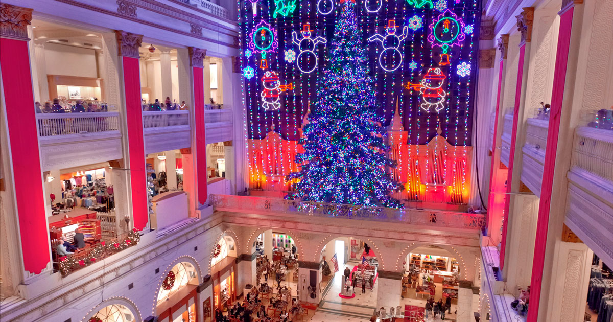 Christmas at wanamaker s the listeners club