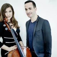 Cellist Alisa Weilerstein and pianist Inon Barnatan