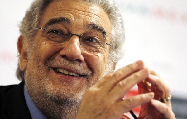Tenor Plácido Domingo turned 75 yesterday.