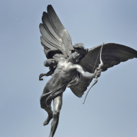 Eros at picadilly circus