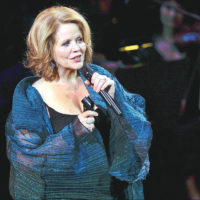 "FILE - In this March 2, 2015 file photo, opera singer Renee Fleming performs at ""An Evening of SeriousFun Celebrating the Legacy of Paul Newman"", hosted by the SeriousFun Children's Network at Avery Fisher Hall in New York. Fleming's new recording out Friday, Jan. 6, 2017, ""Distant Light,"" features a work by Samuel Barber along with pieces by Swedish composer Anders Hillborg and _ surprisingly _ Bjork. (Photo by Evan Agostini/Invision/AP, File)"