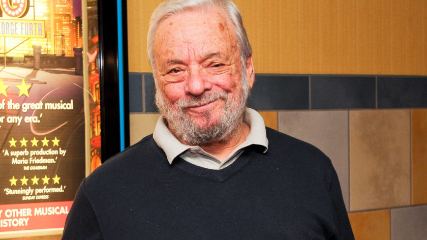 NEW YORK, NY - OCTOBER 17:  Stephen Sondheim attends the New York premiere of 'Merrily We Roll Along' at Regal Union Square Theatre, Stadium 14 on October 17, 2013 in New York City.  (Photo by Rommel Demano/Getty Images)