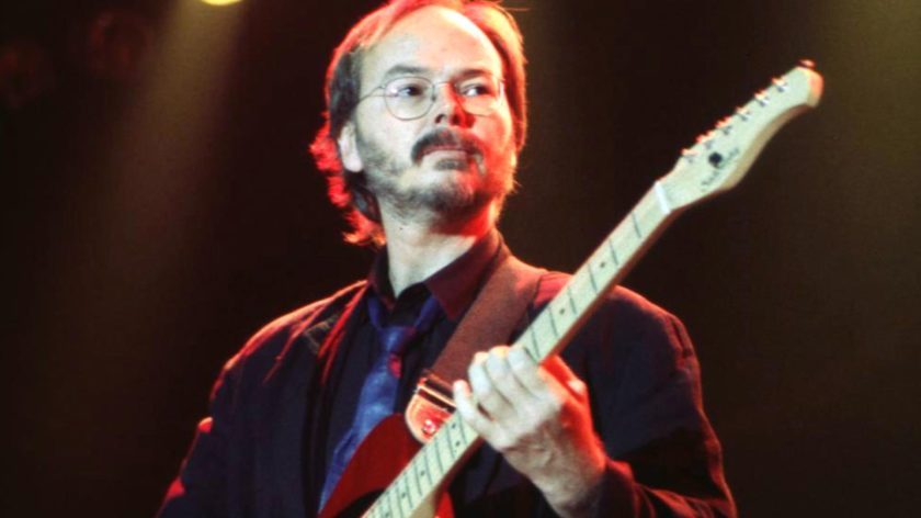 Walter Becker of Steely Dan during Steely Dan in Concert at Roseland - 1995 at Roseland in New York City, New York, United States. (Photo by Patti Ouderkirk/WireImage)