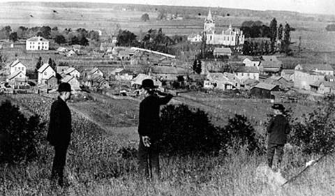 Spillville, Iowa in 1893