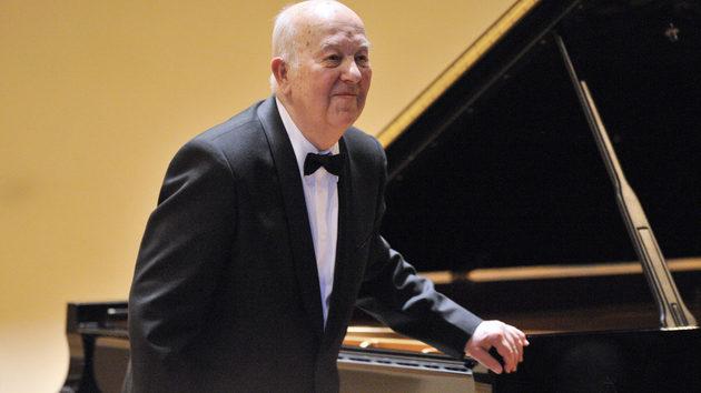 Czech pianist Ivan Moravec (1930-2015)