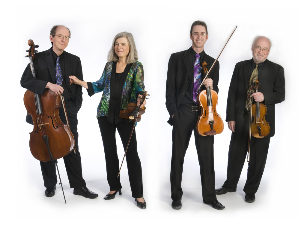 The Lydian String Quartet (photo by by Susan Wilson)