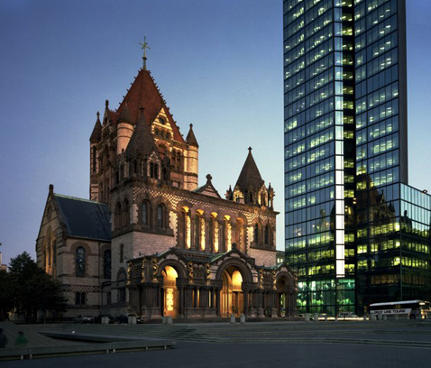 Henry Hobson Richardson's Trinity Church in Boston